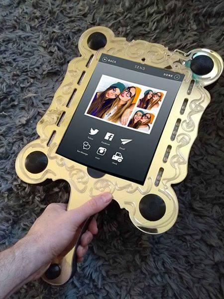 Selfie Mirror Hand Held Snapix Events Houston Tx